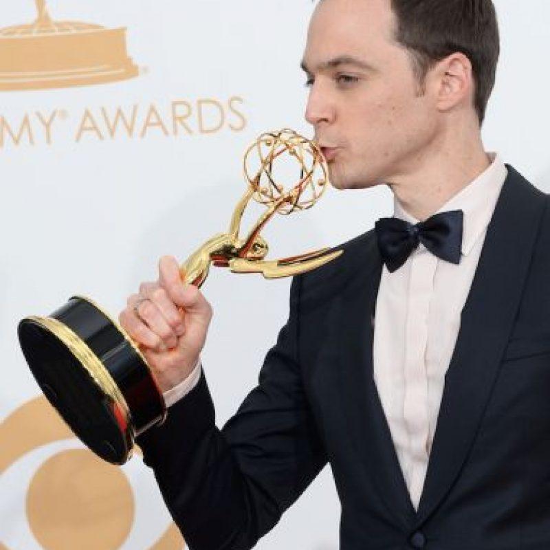 """9.- Jim Parsons -Sheldon Cooper en """"The Big Bang Theory""""ha sido el triple ganador del premio al mejor actor principal en una serie de comedia. Foto:Getty Images"""