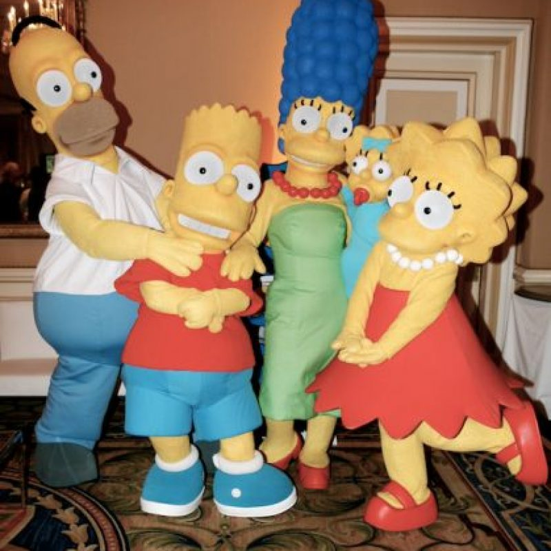 "10.- Este es el primer año que ""The Simpsons"" no está nominado. Foto: Getty Images"
