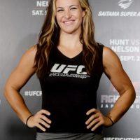 """La excampeona de Peso Gallo de Mujeres de la UFC, Miesha Tate, acusó a Ronda Rousey de """"huir"""" de Cris Cyborg. Foto:Getty Images"""