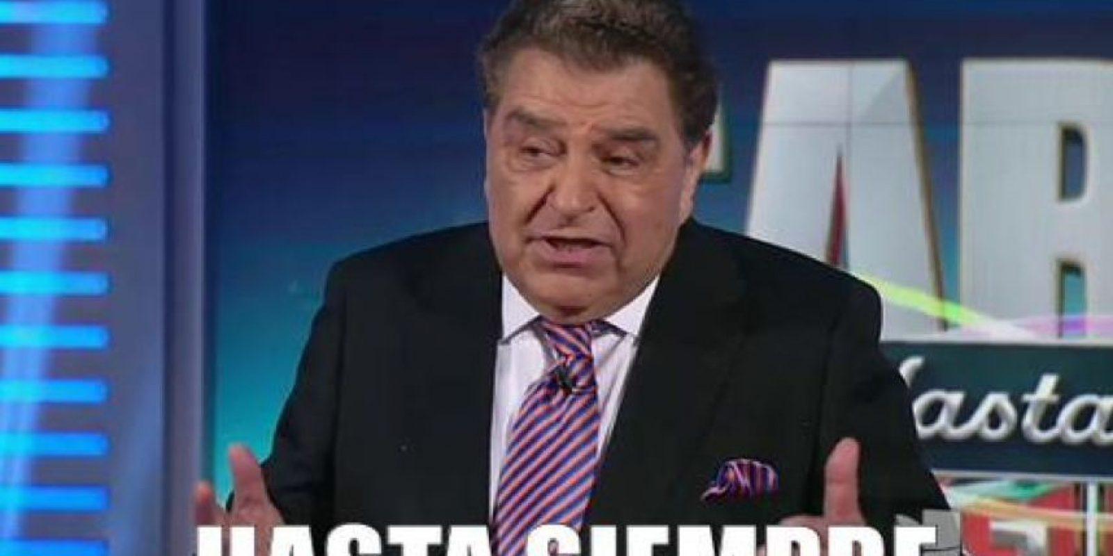 De esta manera, concluyeron 53 años de televisión en Latinoamérica. Foto:vía Twitter/Univision