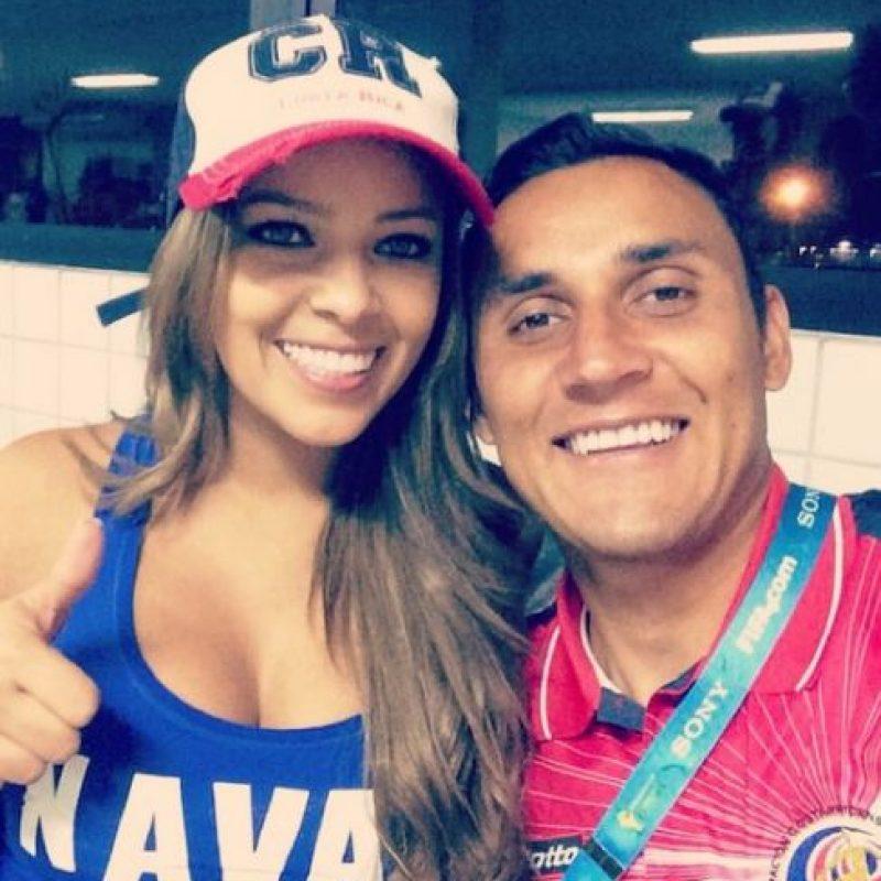 Es la esposa del portero del Real Madrid, Keylor Navas. Foto:Vía instagram.com/andreasalasb