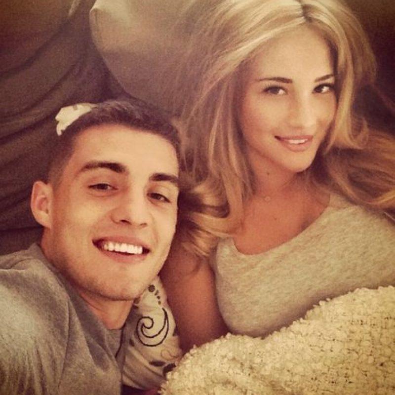 La bella croata es la novia del nuevo fichaje del equipo, Mateo Kovacic. Foto:Vía instagram.com/kovm20