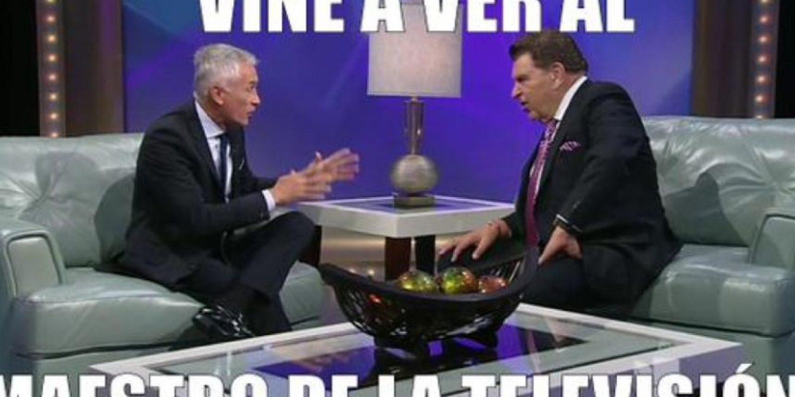 También afirmó que candidato que no entrevistaba no llegaba a la Casa Blanca. Foto:vía Twitter/Univision