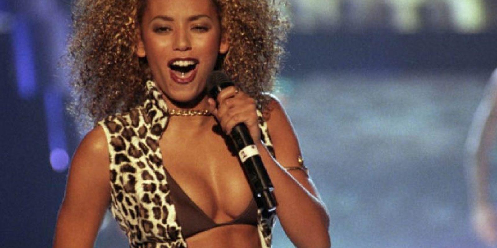 """""""Mel B"""" era la más """"explosiva"""" de las Spice Girls. Foto:vía Getty Images"""