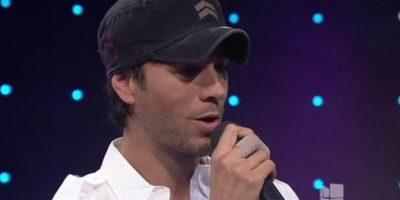 Enrique Iglesias también le agradeció personalmente. Foto:vía Twitter/Univision