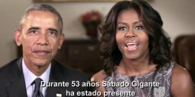 Video: Los Obama felicitan a Don Francisco por Sábado Gigante