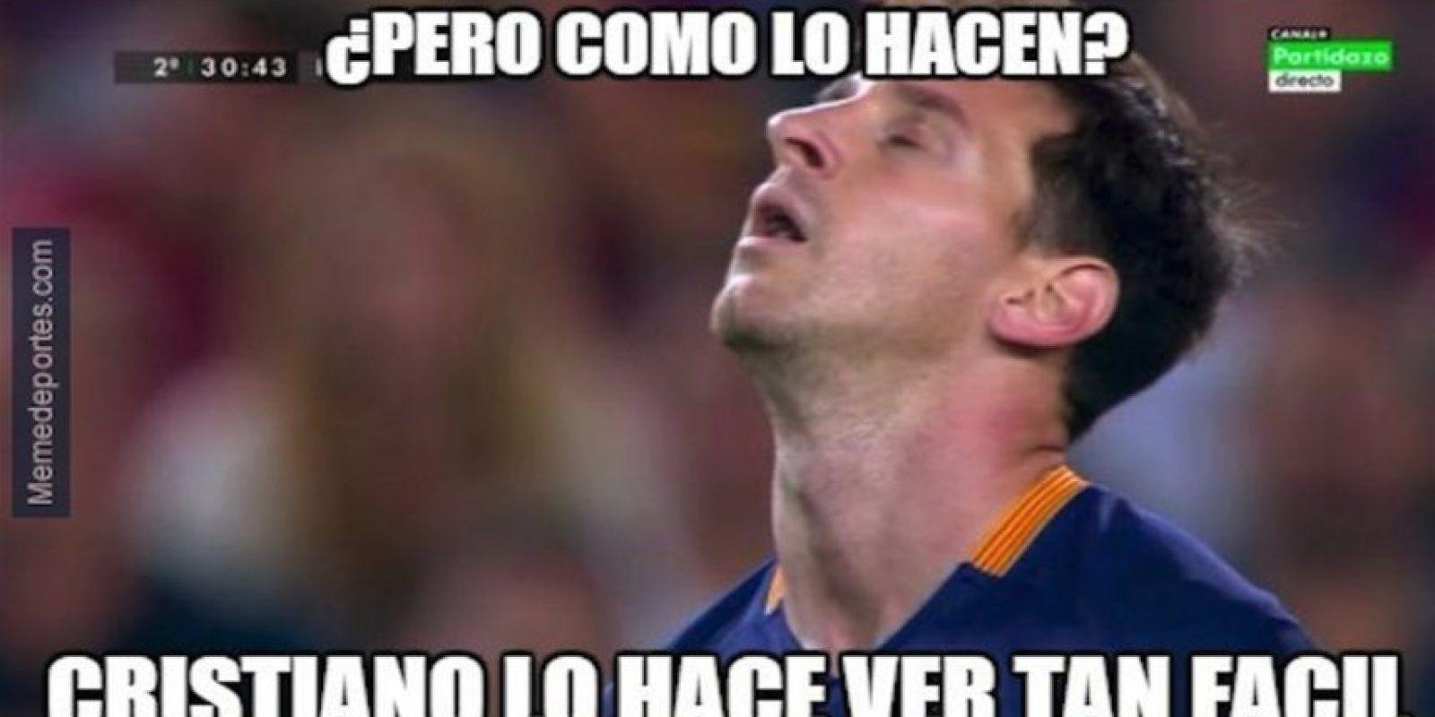 Por supuesto, llegaron las comparaciones con Cristiano Ronaldo. Foto:memedeportes.com