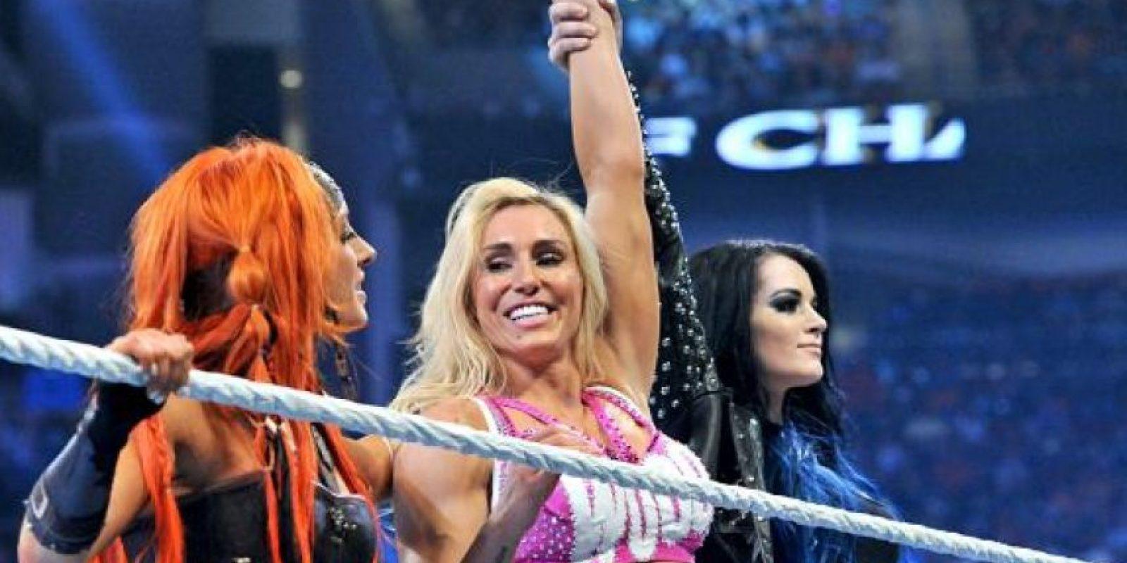 Charlotte retó a la monarca Nikki Bella Foto:WWE
