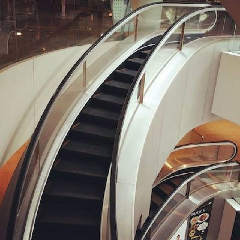 Foto:Instagram.com/explore/tags/escalator/