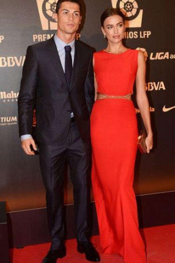 7. Irina Shayk y Cristiano Ronaldo Foto:Getty Images