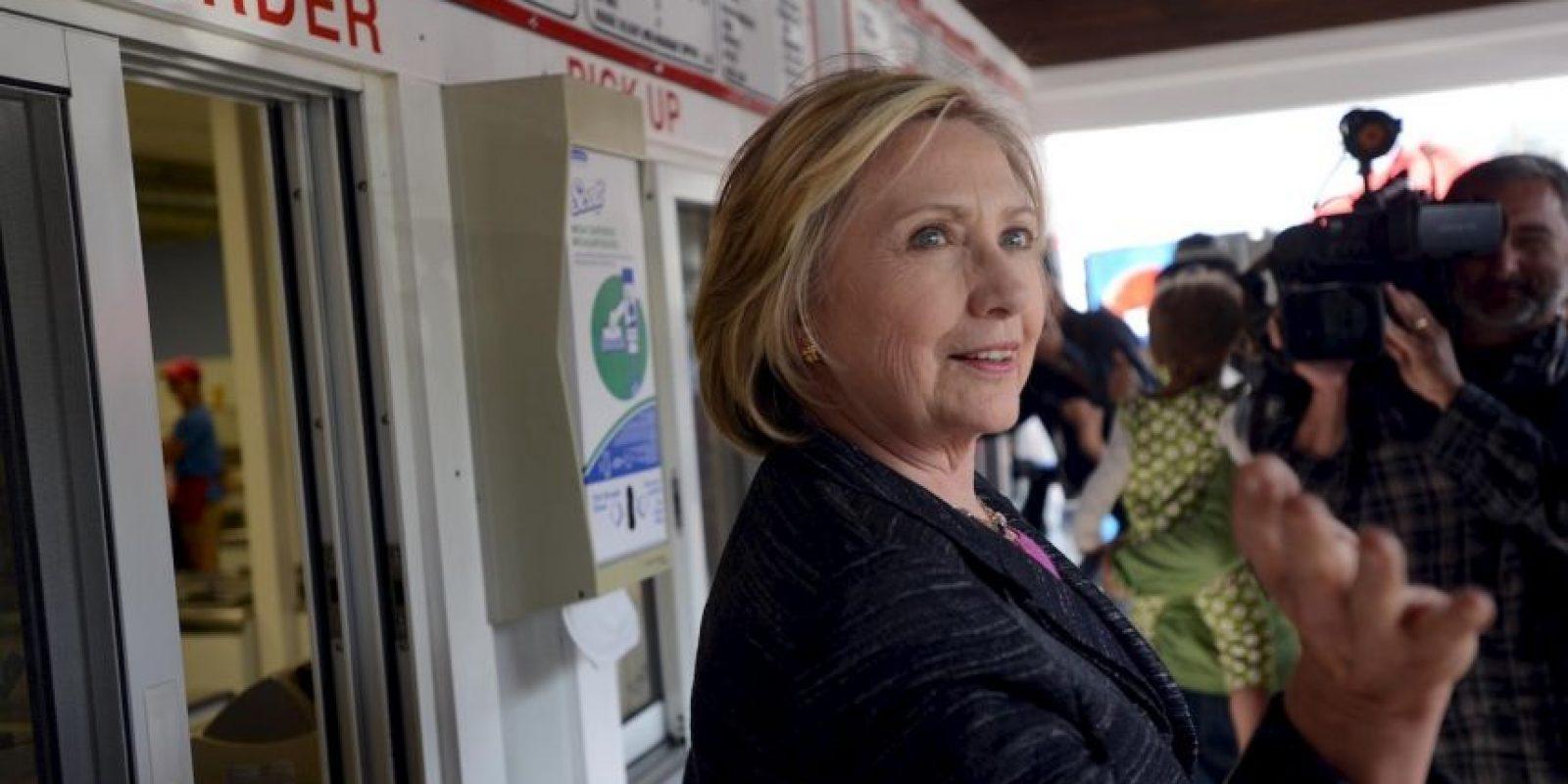 Esto luego del escándalo de los correos electrónicos cuando era Secretaria de Estado. Foto:Getty Images