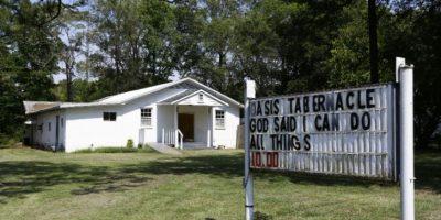 El ataque ocurrió en la Iglesia Oasis Tabernáculo, de la ciudad Selma. Foto:AP