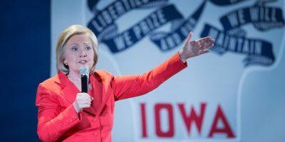 Desde el año pasado la candidata entregó cerca de 30 mil correos electrónicos al Departamento de Estado para su investigación. Foto:Getty Images
