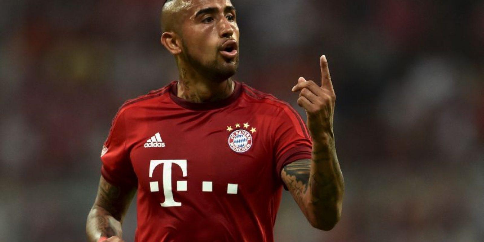 A pesar de las críticas, Arturo Vidal la pasa bien en el Bayern Munich. Foto:Getty Images