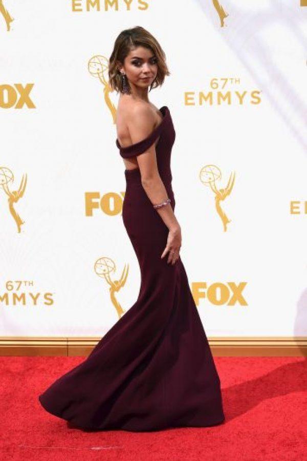 Sarah Hyland en los premios Foto:Getty Images