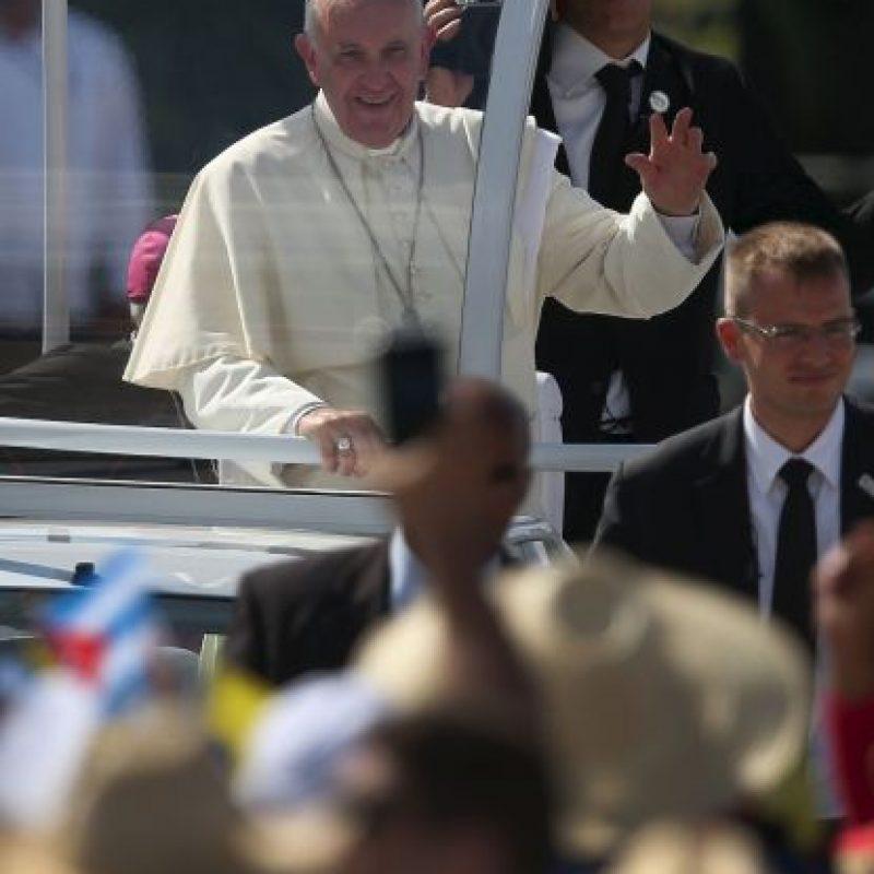 El sumo pontífice ofició una misa en la Plaza de la Revolución, en esta ciudad Foto:Getty Images