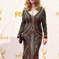 """Christina Hendricks era la gran esperanza """"plus size"""" de la noche. Foto:vía Getty Images"""