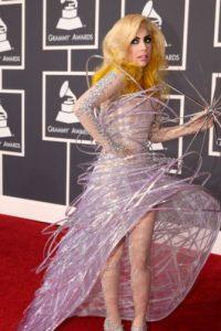 Usó esto en los Grammy. Foto:vía Getty Images