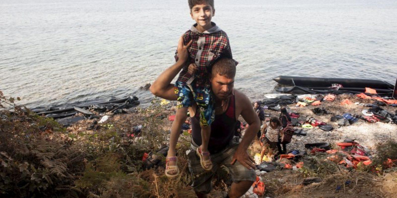De acuerdo a laUNICEF, en el primer semestre de 2015, llegaron 106 mil niños Foto:AFP