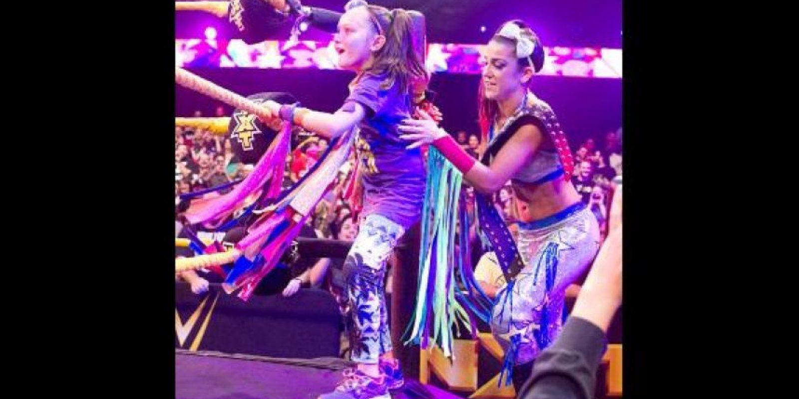 Su nombre real es Pamela Martínez Foto:WWE