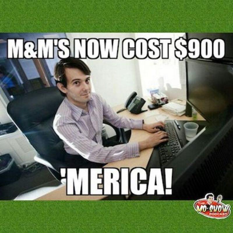 """""""Los M&M's ahora cuestan 900 dólares… ¡Estados Unidos!"""" Foto:Instagram.com"""