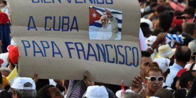 El recibimiento del pueblo cubano Foto:AFP
