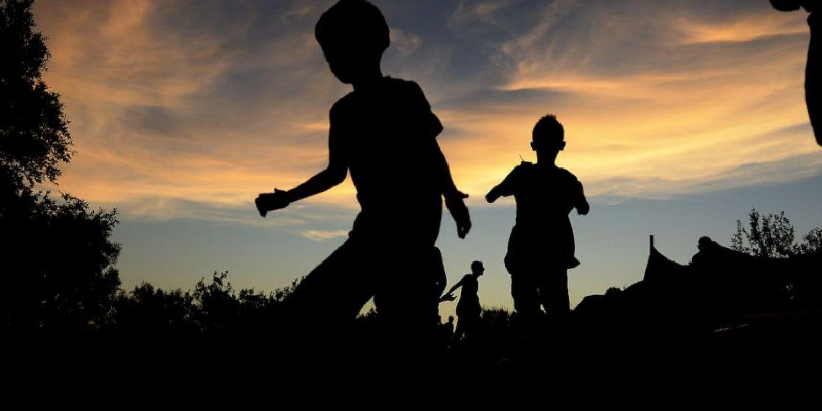 Un gran número de niños fueron explotados desde que llegaron a Europa Foto:Getty Images