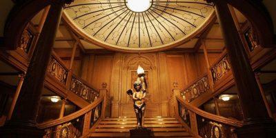 Hay reproducciones de los interiores del barco Foto:Getty Images