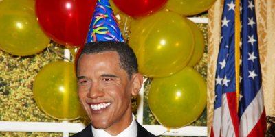 En esta figura el presidente Barack Obama celebraba su cumpleaños el 4 de agosto de 2009 en la ciudad de Nueva York. Foto:Getty Images