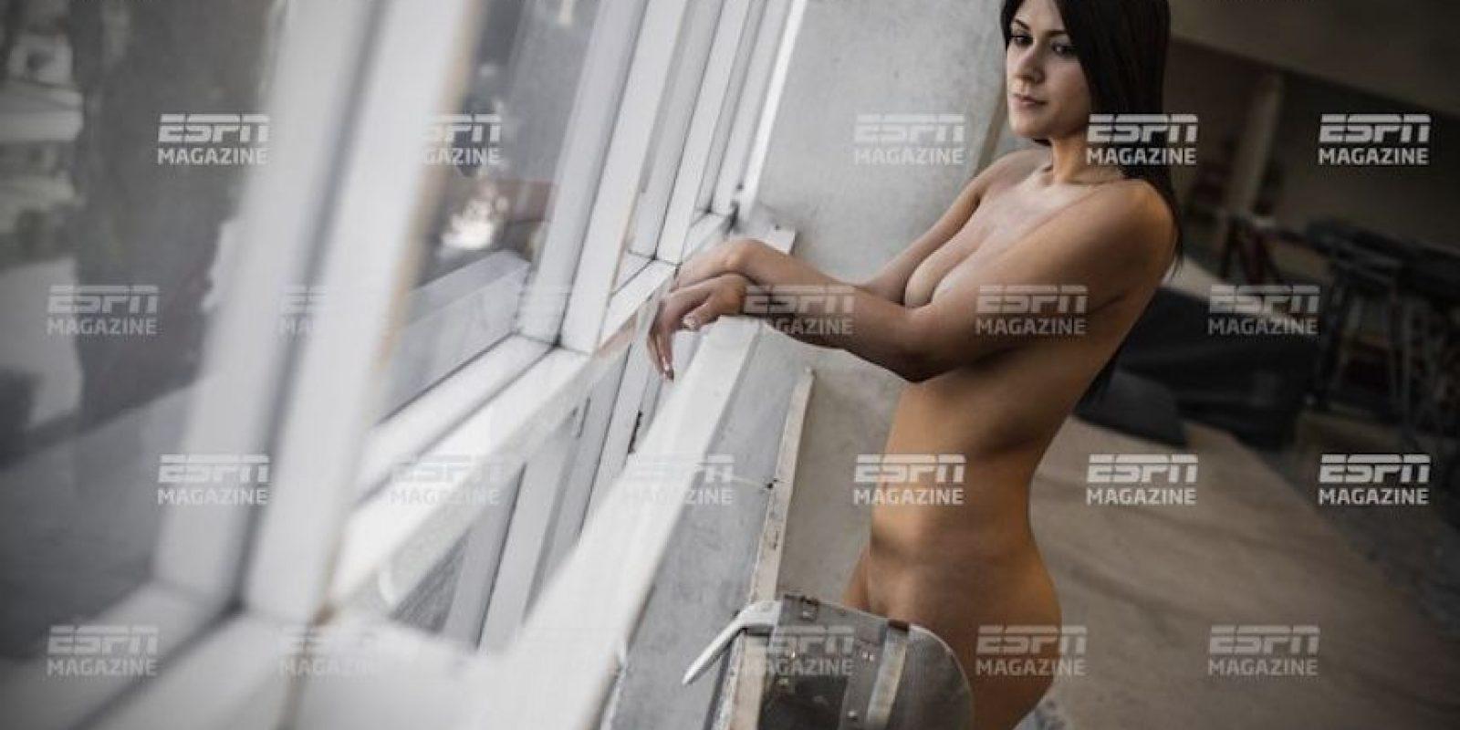 Esgrimista mexicana Foto:ESPN