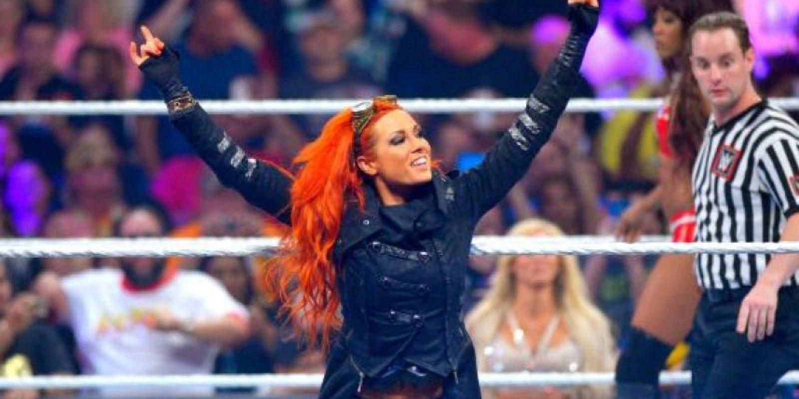 Becky ha peleado también bajo el nombre de Rebecca Knox Foto:WWE