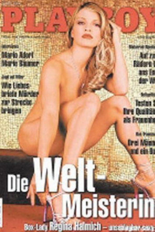Así lucía en su primera aparición en la revista del conejito Foto:Playboy