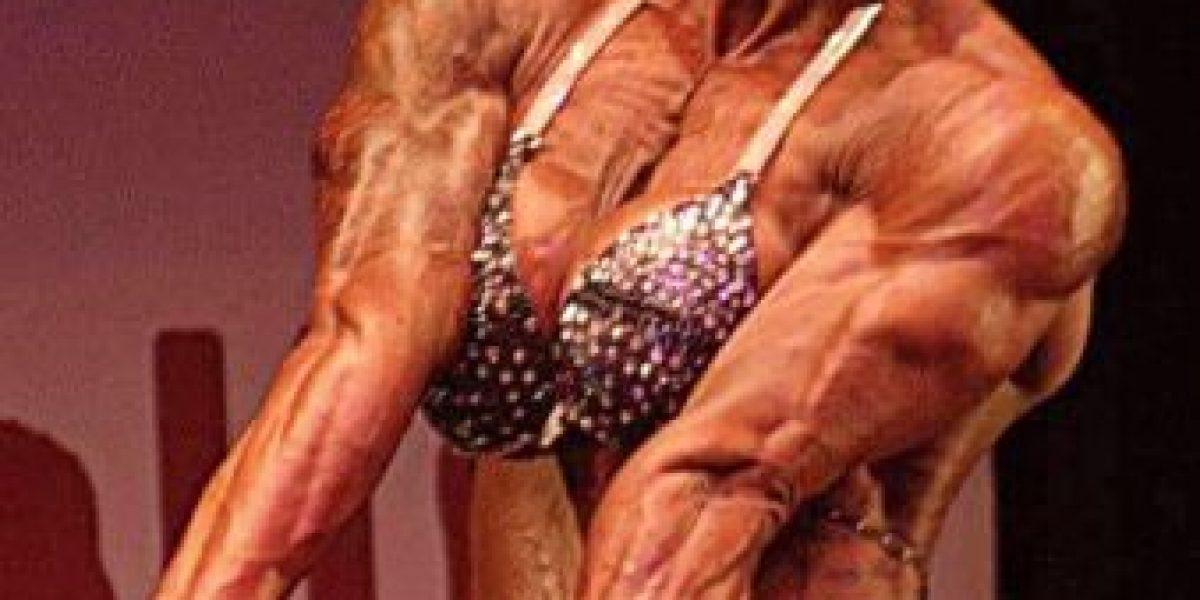 Fotos: ¿Moldearían su cuerpo como el de esta sorprendente fisicoculturista?