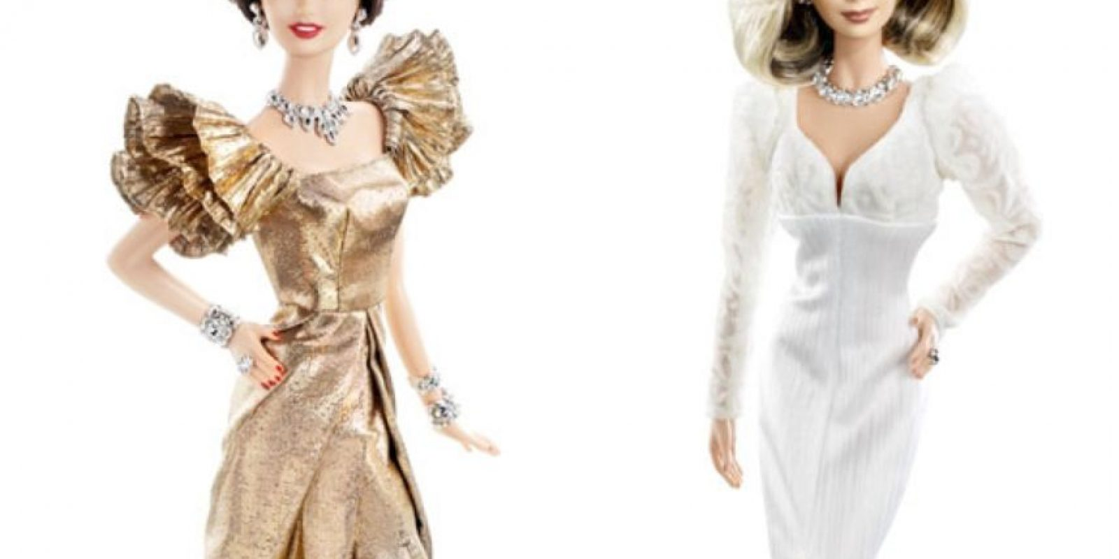 """Joan Collins y Linda Evans en """"Dinastía"""". Foto:vía Mattel"""
