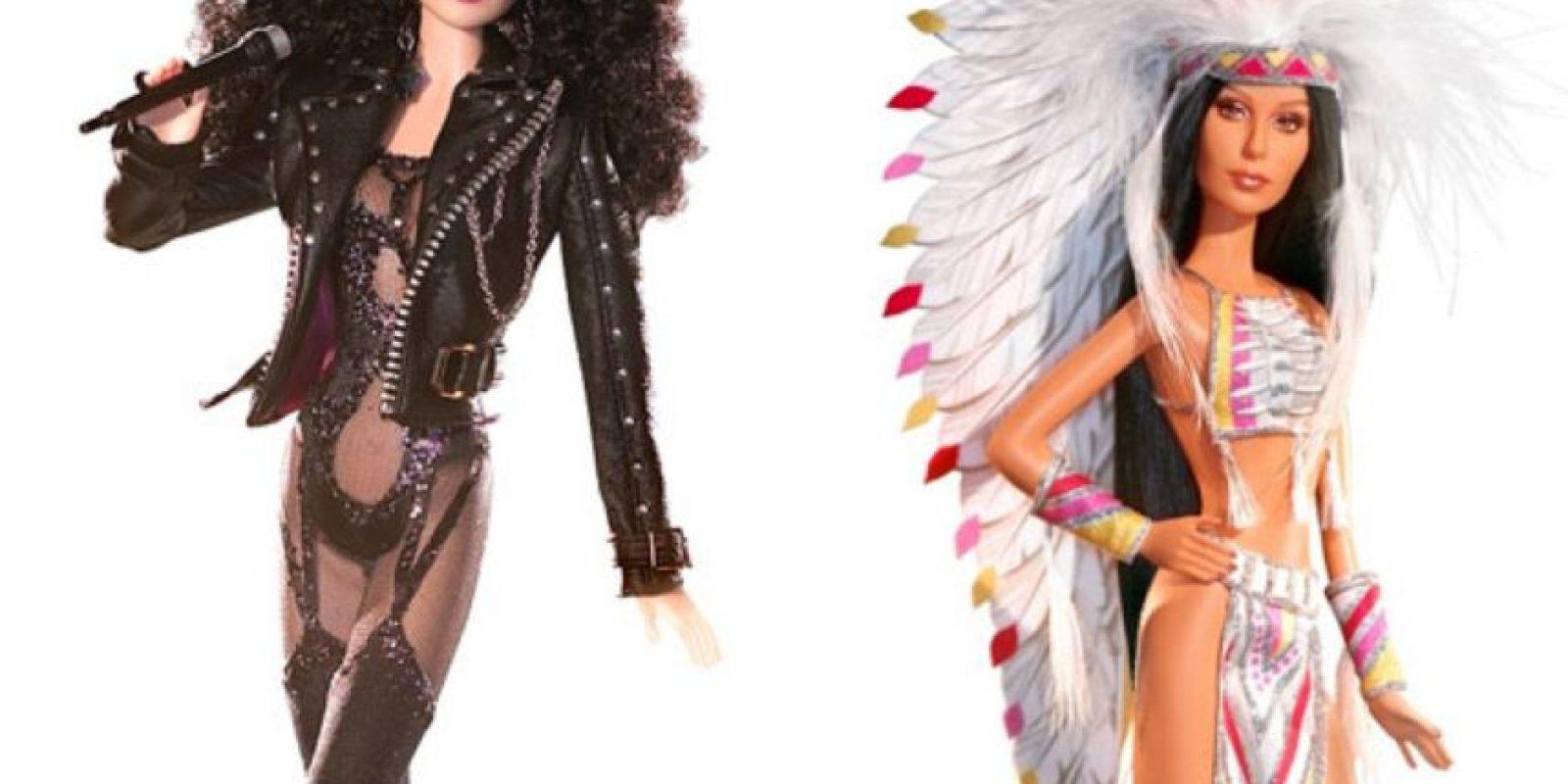 Cher. Foto:vía Mattel