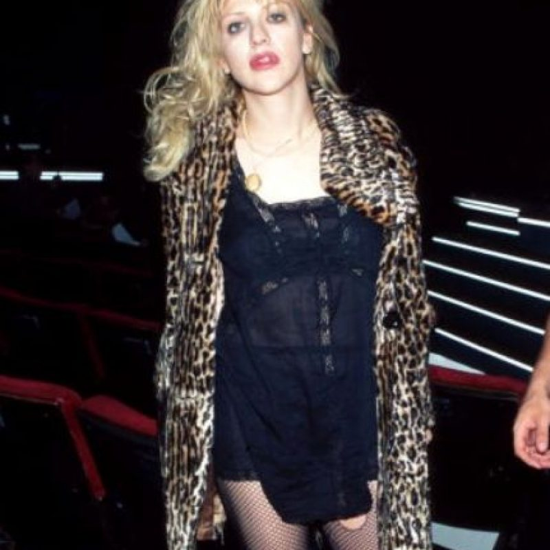 """Fue la diosa del """"grunge"""" en los años 90. Foto:vía Getty Images"""