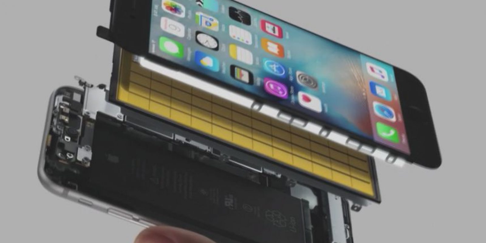 Tapic Engine, sensores capacitivos y 3D Touch Foto: Apple
