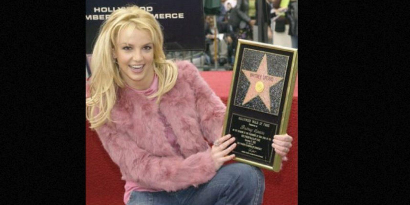 Britney nunca ha sabido usar los materiales. Foto:vía Getty Images