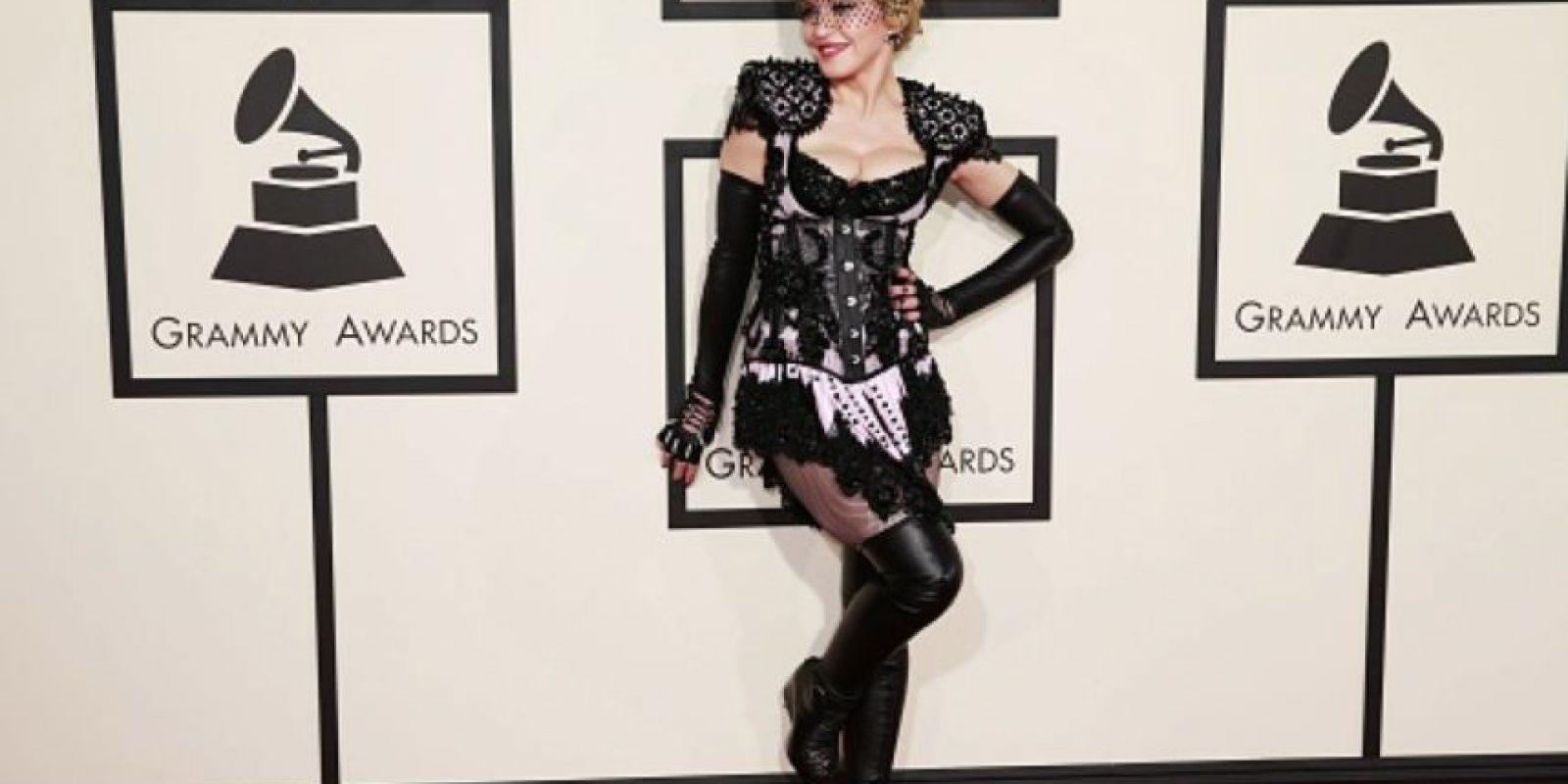Todas las estrellas pop la han copiado. Foto:vía Getty Images