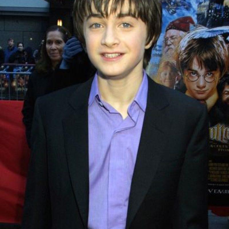 """El corte con el que conocimos a """"Harry Potter"""" Foto:Getty Images"""