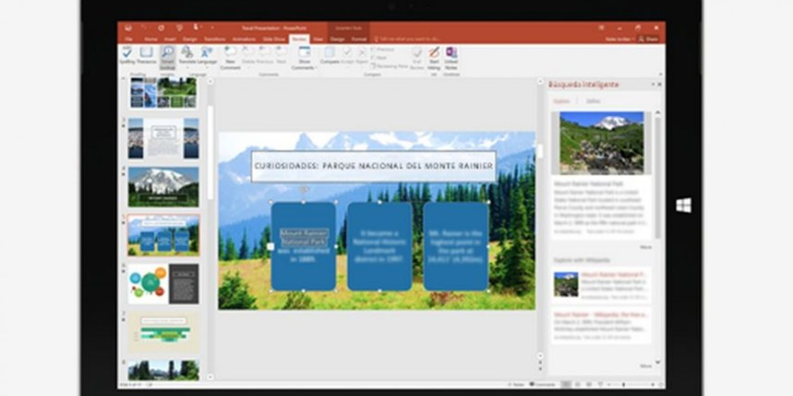 La paquetería también trabaja con comandos. Foto:Microsoft