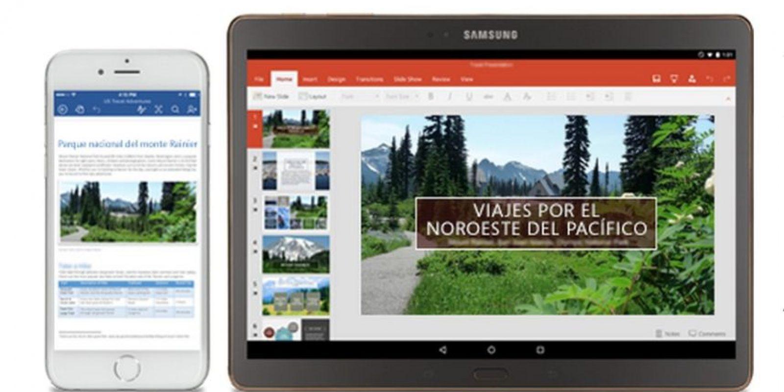 Lo pueden utilizar en cualquier lado y en cualquier dispositivo. Foto:Microsoft