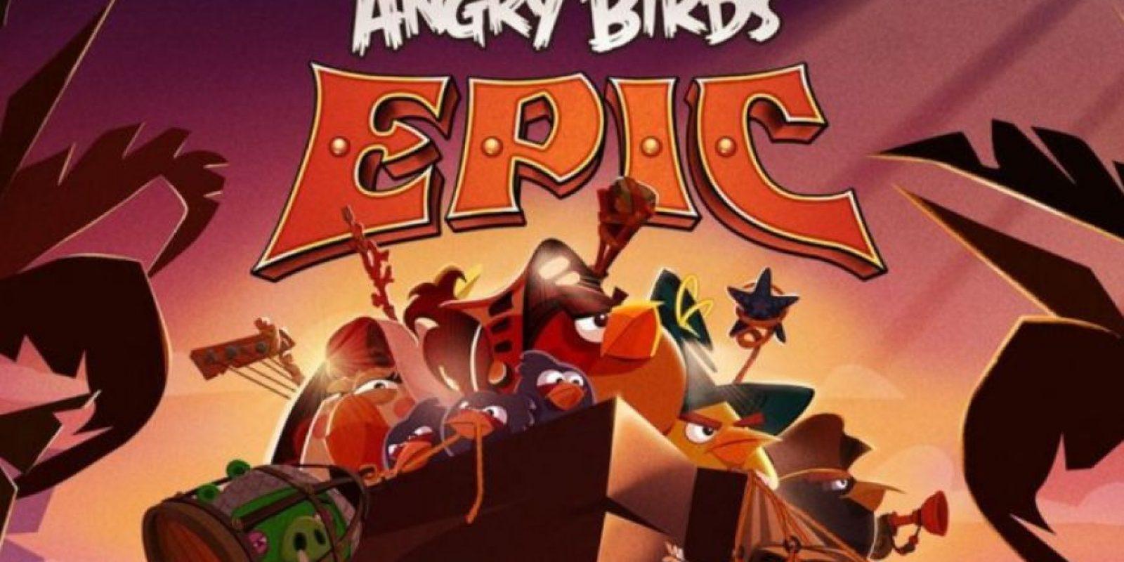 Angry Birds Epic (2014). Foto:Rovio