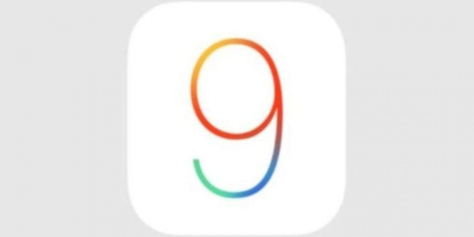 iOS 9.0.1 ya está disponible. Foto:Apple