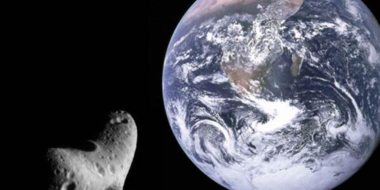 El supuesto asteroide que iba a caer no cayó. Foto:vía Twitter