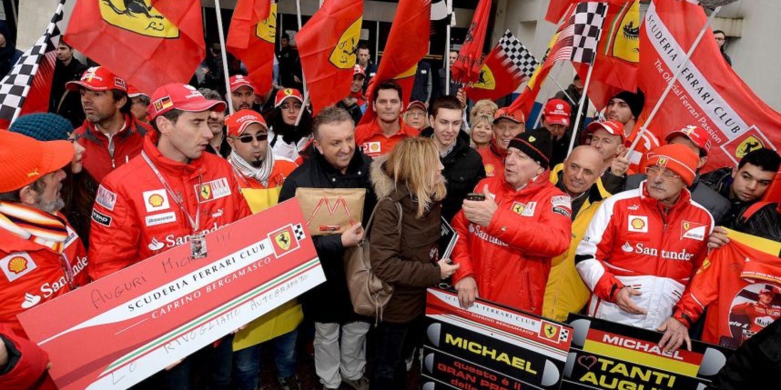 El 29 de diciembre de 2013, Schumacher sufrió un grave accidente de esquí mientras esquiaba con su familia en los Alpes franceses, quedando en un estado crítico. Foto:Getty Images