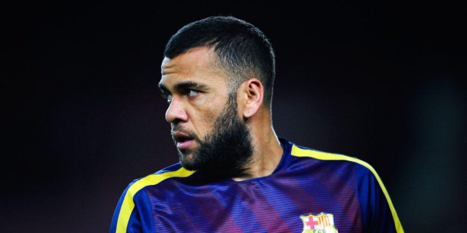 Dani Alves es un defensa brasileño que juega para el Barcelona de España. Foto:Getty Images