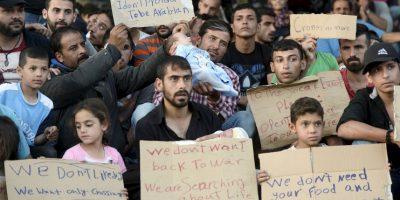 Los principales líderes de la Unión Europea piden solidarizarse con los miles de refugiados que han llegado en 2015 Foto:Getty Images