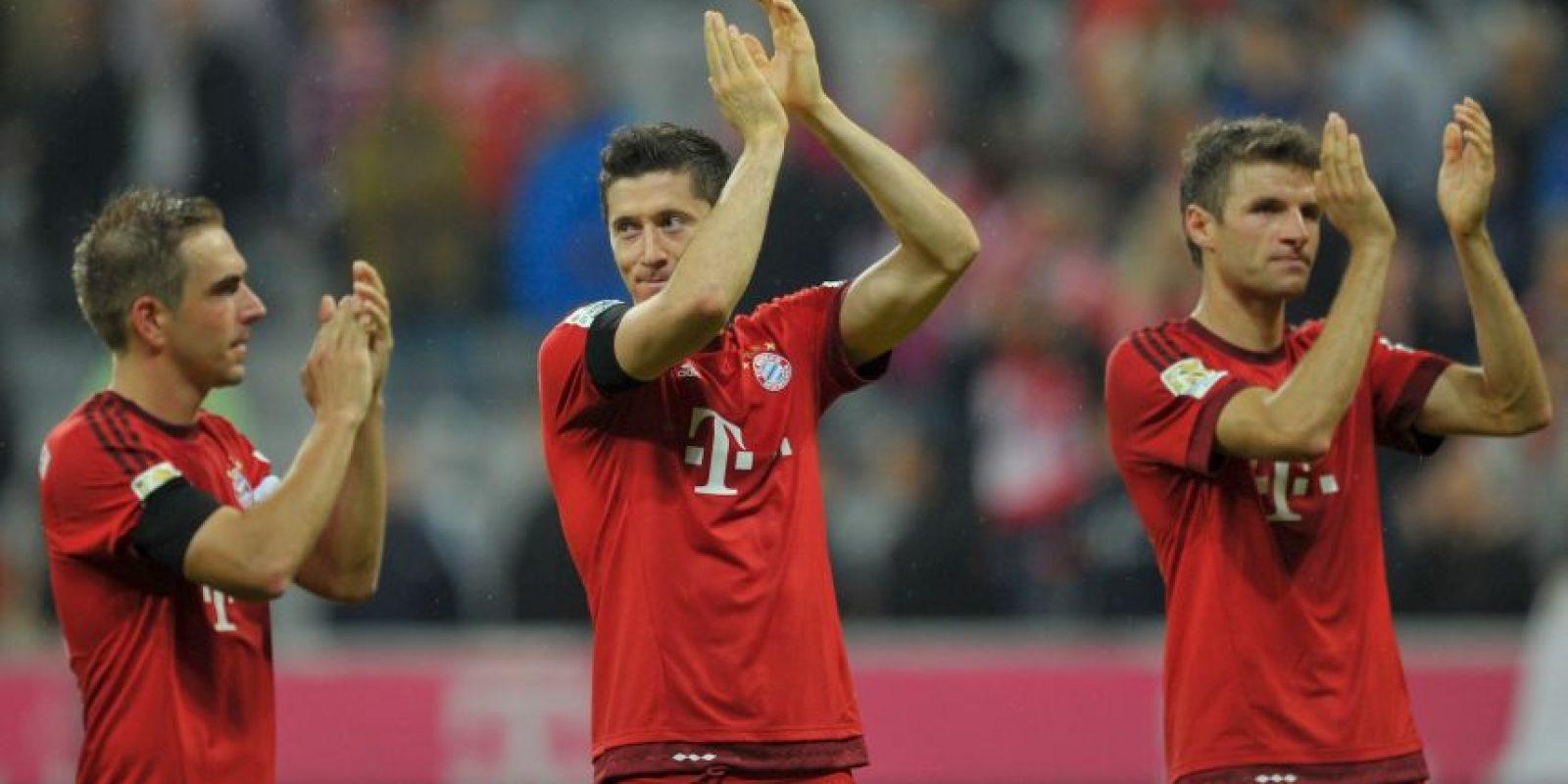 Hizo el hat trick más rápido de la Bundesliga en cuatro minutos Foto:Getty Images