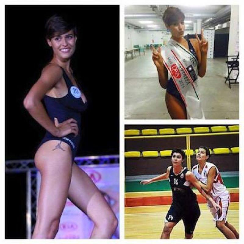 Además, practica básquetbol Foto:Facebook.com/pages/Alice-Sabatini